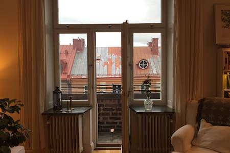 Cosy one bedroom apartment with a sky view - Apartemen