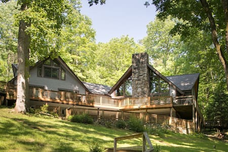 Sweet Virginia Blue Smith Mtn Lake - Huis