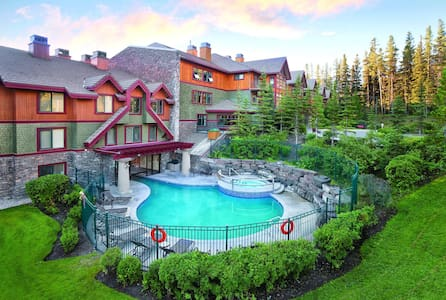 Great 1 Bedroom in fully managed resort - Canmore