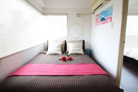 SHIBUYA 3MIN WALK / 2BEDROOMS BRIGHT COZY SUITE - Shibuya - Apartment