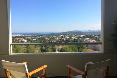Cosy Loft near Rafina's Port & Athens' Airport - Appartement
