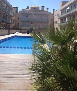 Аппартаменты с бассейном - La Garriga