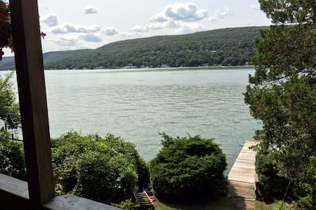 Lakefront home on Greenwood  Lake. Great Fall View - Mökki