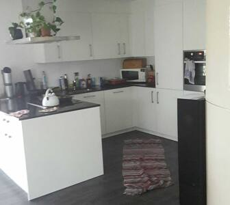 Schöne helle Gartenplatz Wohnung - Erlen - Apartment
