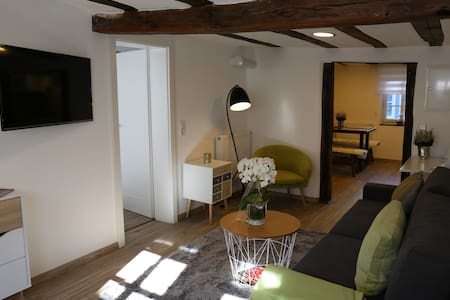 Malerwinkel im historischen Fachwerkhaus - Michelstadt - Appartement