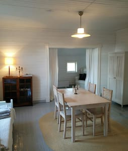 Lovely room in a wooden house 3 persons - Haus