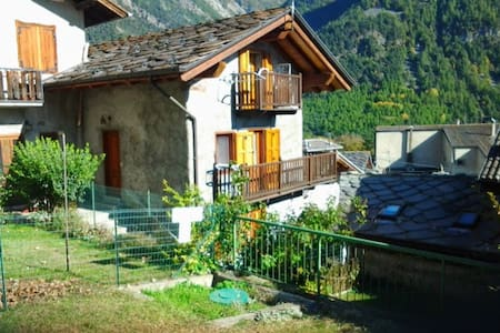 bilocale in casa tipica in Val d'Ayas - Challand Saint Anselme - Wohnung