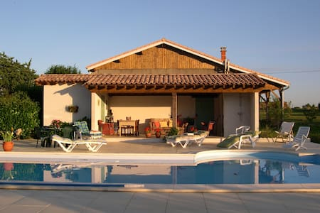 Set in beautiful garden with private pool - Clérac - Haus