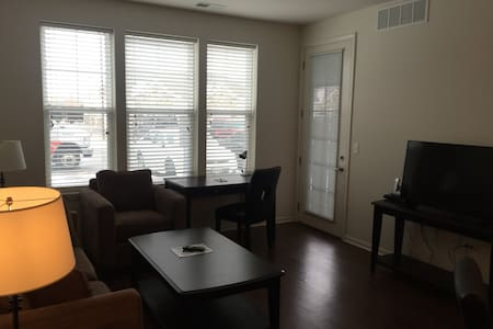 SLEEK 1BR/1BA @ Oaks of Vernon Hills - Flat