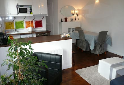 One metro station from Paris - Quiet 1 BR - Apartment