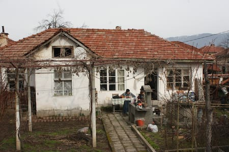 Old school village house - House