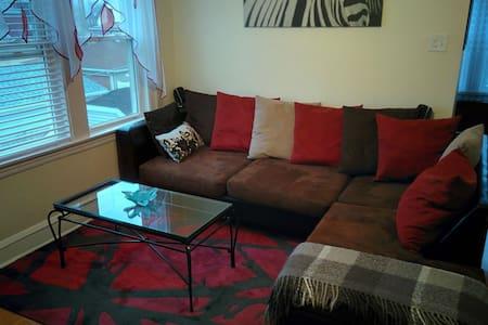 Cozy modern apartment, ElmwoodPark - Elmwood Park - Pis