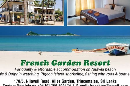 FRENCH GARDEN RESORT - Trincomalee - Trincomalee - House