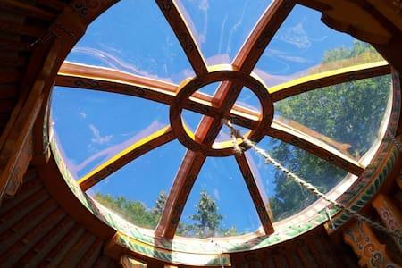 Heated yurt facing the Mont Blanc - Monnetier-Mornex - Yurt