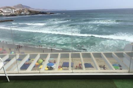 Departamento Frente al mar 1ra fila - San Bartolo - Wohnung