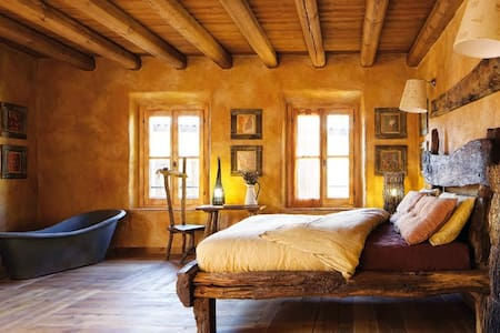 Galbusera Bianca - Stanza del Falegname - Rovagnate - Bed & Breakfast