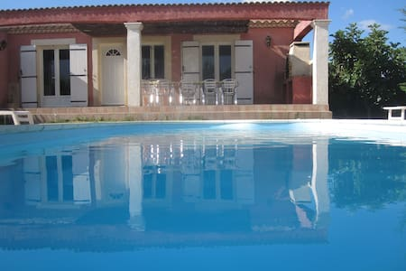 Villa Lauralie avec piscine chauffée - Ribaute-les-Tavernes