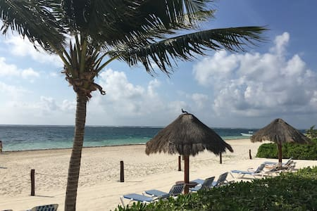 Apartment on the beach. - Puerto Morelos - Apartment