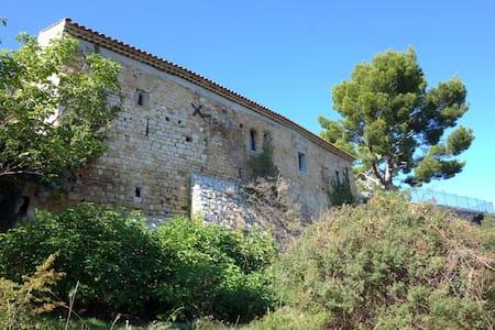 Charme, terrasse et vue en Provence! - Volx - Rumah