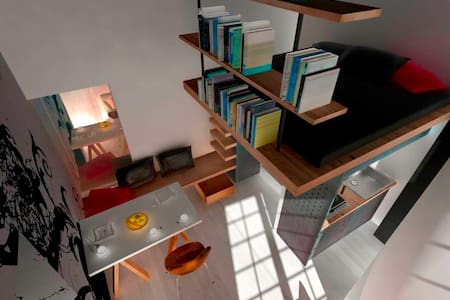 "Very ""original "" apartment of 15 square meters - Apartment"