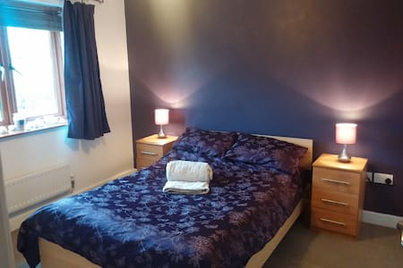 Double Bed with Private Bathroom - House