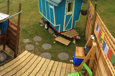 The Blue Wagon on SaltSpring! - Bed & Breakfast