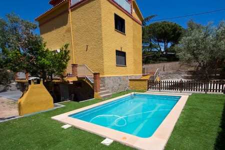 Villa Airesol C for 8, 35km to BCN! - Castellar del Vallès - House