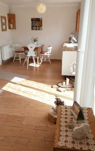Schönes 1 Zimmer - Apartment mit Terrasse - Burgpreppach - Wohnung
