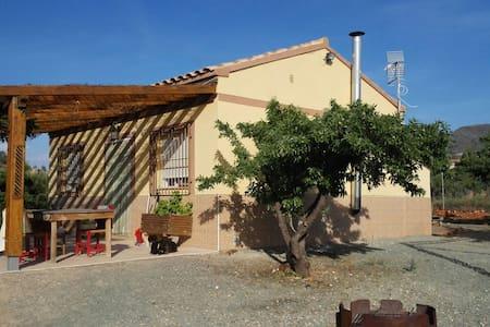 Bonita casa rustica en la naturaleza - Lorca