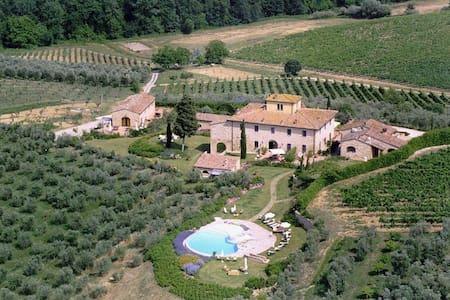 Luxury Villa with pool in Tuscany ! - Tavarnelle Val di Pesa - Villa