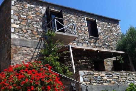 Traditional suite above the Museum of Ikaria - Agios Kirikos - Huis