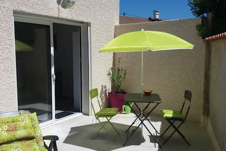 appartement neuf de 36 m2 avec terrasse privée - Huoneisto