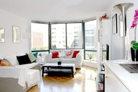 Comfortable 1BR by the Hudson River