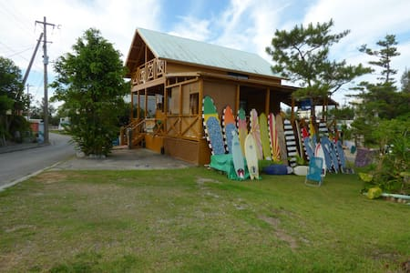 TROPICAL SURF HOUSE SURFING KITESURF SUP SNORKEL - Bed & Breakfast