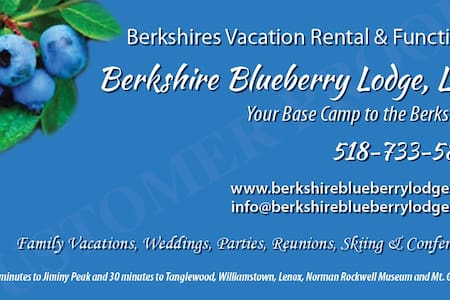 Berkshire Blueberry Lodge LLC - Stephentown - House