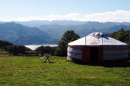 Yurt 2 Panoramic view national park - Rundzelt
