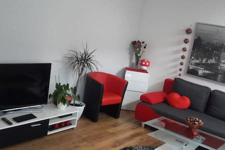 Cozy room near Airport, Messe and Stuttgart - Appartement
