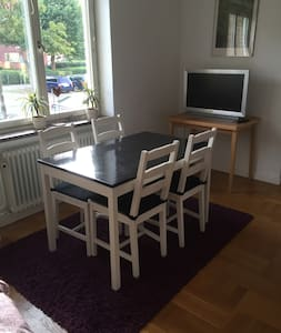 Studio in quiet area near downtown and beach - Malmö - Apartment