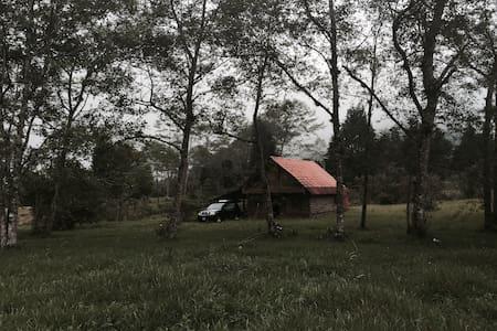 Cabaña en zona montañosa clima fres - Bajos del Toro