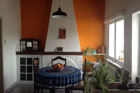 Big room with private bathroom in lovely old house - Gent - Reihenhaus