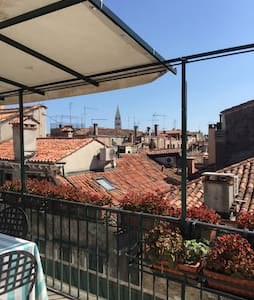 Cosy room in Venetian apartment with terrace - Venice - Apartment
