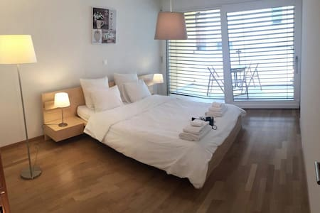 Chaleureux appartement au coeur de Martigny - Apartment