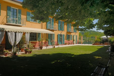 Cascina del Tiglio - Bed & Breakfast - White room - Provincia di Asti - Bed & Breakfast