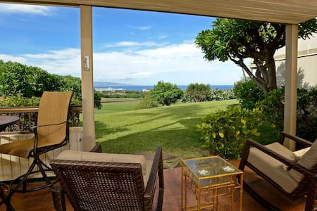 Front Row Wailea Ekolu 1 Bed - Golf & Ocean Views! - Wailea-Makena