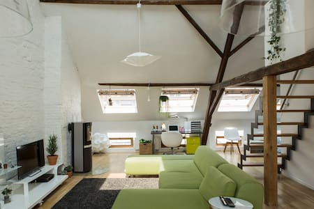 Spacious loft in the centre of Ghent - Gent - Loft