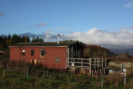 Self-catering log cabin, Balblair - Balblair