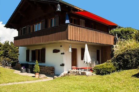 Beautiful flat 20m from slopes - Reichenbach im Kandertal - Chalet