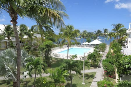 Charming Apartment with View on the Pool and Simpson Bay Lagoon - Appartement