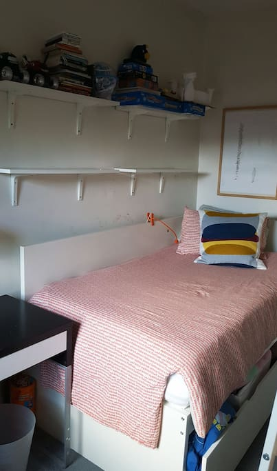 Smaller Bedroom with Single Bed