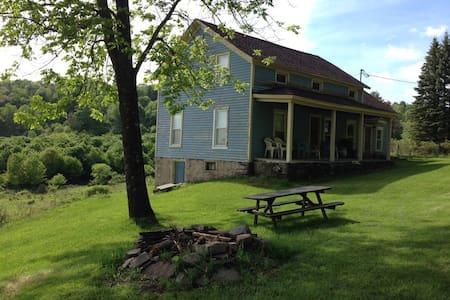 Frolic Farm, 140 Acres + Swim Pond - Ház